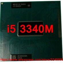 Процессор lntel Core i5 3340M SR0XA(3 м кэш/2,70 ГГц/двухъядерный) i5-3340M процессор для ноутбука