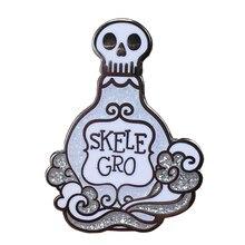 Эмалированная булавка с отворотом для бутылки Skele-Gro