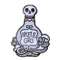 Skele-Gro flasche revers emaille pin