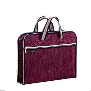 Image 2 - ขนาดใหญ่ความจุซิปกระเป๋า A4 Tote แฟ้มโฟลเดอร์เอกสารการประชุมกระเป๋าสำหรับนักเรียนข้อมูลแฟ้มกระเป๋าถุงผ้าใบกันน้ำ
