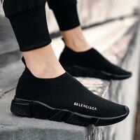 2019 роскошный дизайн; большие размеры 39-44; повседневные мужские кроссовки; обувь на платформе; Мужская дышащая обувь из сетчатого материала; ...