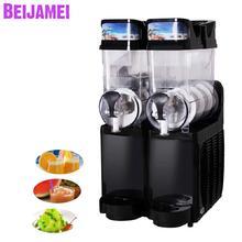 Beijamei заводская цена два цилиндра слякоть слякоти машины коммерческих промышленных таяния снега Автомат для подачи холодных напитков