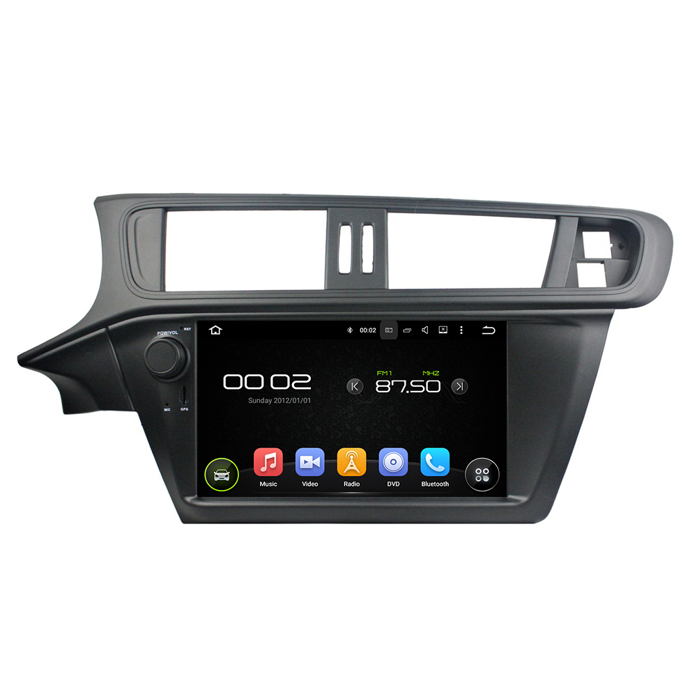 9 Octa core Android 6.0 Car Multimedia Player For CITROEN C3 2005 2011 Car Video Audio Stereo Free MAP Canbus Car DVD Player