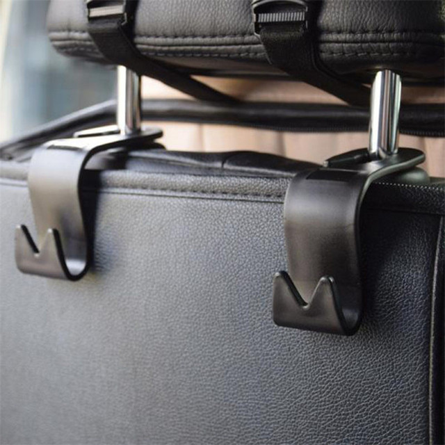 4Pcs Car Seat Back Headrest Holder Hook for Bag Coat Organizer Holder Universal 2017 Auto hooks Stowing Tidying