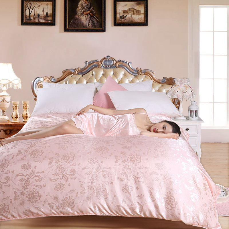 100% Natural/Mulberry Silk Comforter King Queen Twin size Summer & Winter Duvet/Blanket/Quilt edredom Filler Bedspread Bedding