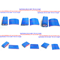 2-battery Jacket Pvc Heat Shrinking Film Insulation Casing 2 And 2 Series 18650 18650 Lithium Battery Heat Shrink Tubing