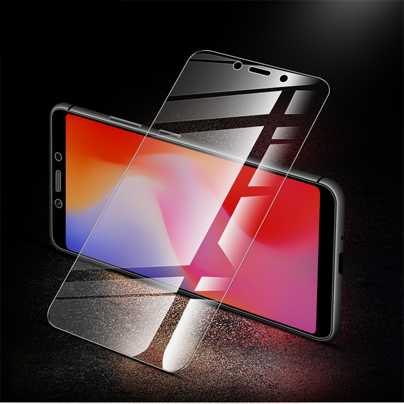 Image 2 - Redmi 6A Protective glass 2.5D 9H HD High quality Full Screen protector for Xiaomi Redmi 6A Tempered glass-in Phone Screen Protectors from Cellphones & Telecommunications
