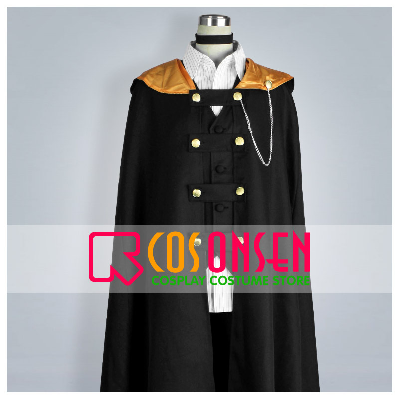 COSPLAYONSEN Wand of Fortune Alvaro Garay Cosplay Costume Full Set All Size