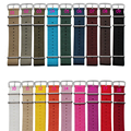 Silver buckle 1PCS High quality 18MM 20MM 22mm 24mm Nylon Watch band NATO straps waterproof watch strap 18 colors available