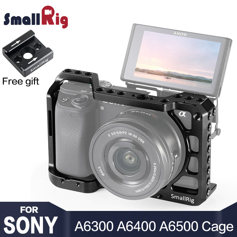 SmallRig A6400 Camera Cage for Sony Alpha A6400 Camera Feature with 1 4 3 8 Thread