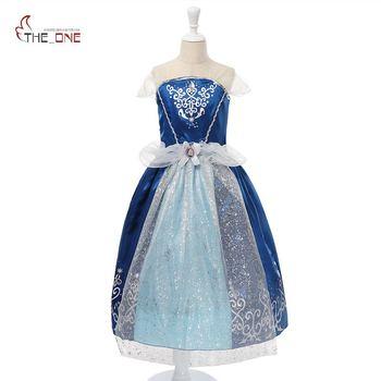 Jetzt Angebot Verkauf MUABABY Mädchen Cinderella Kleid Sommer ...