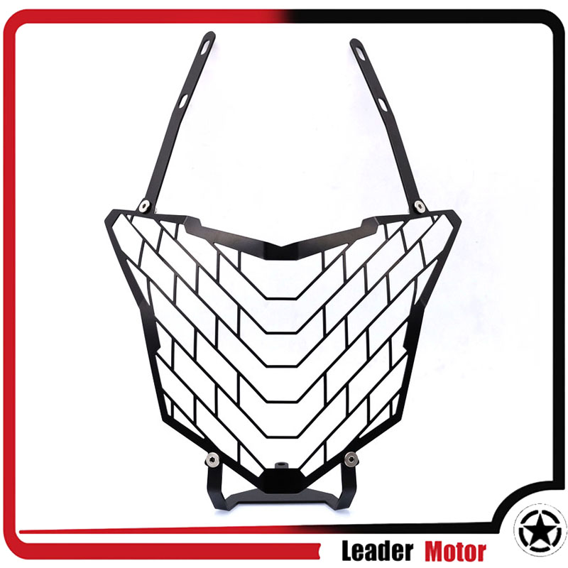 For HONDA CB500X CB 500X CB 500 X CB500 X 2016-2017 Motorcycle Accessories Headlight Grille Guard Cover for honda cb 500x cb 400x cb 500f cb 400f 2013 2014 2015 2016 2017 2018 engine frame crash bar bumper motorcycle accessories