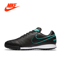 NIKE TIEMPO GENIO II LEATHER TF Men's Comfortable Light Football Shoes Soccer Sneakers