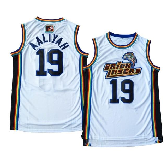 Prix pour #19 Aaliyah Maçons de Basket-Ball Jersey Blanc