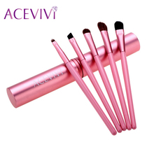 ACEVIVI 5pcs/set Eyeshadow makeup brushes tools set Makeup Tool Brush Set Kit  eyeshadow Brush Cosmetic Brushes