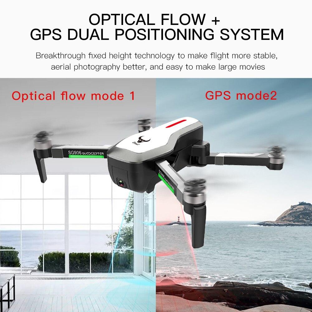 SG906 Quadcopter ควบคุมความเร็ว FPV Brushless มุมกว้าง RC Drone Clear กล้อง WIFI ความสูงเครื่องบิน GPS Selfie พับได้-ใน กล้องโดรน จาก อุปกรณ์อิเล็กทรอนิกส์ บน AliExpress - 11.11_สิบเอ็ด สิบเอ็ดวันคนโสด 1