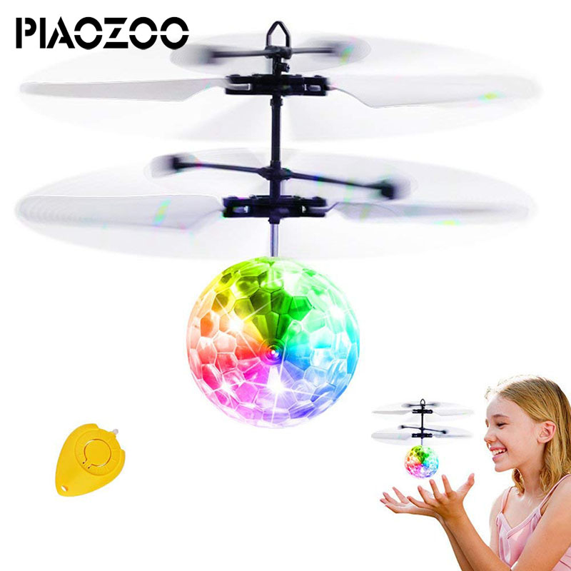 Upgade RC Flying Ball with Remote Controller Crystal Flashing LED Light RC Toy Infrared Induction Helicopter Heliball for KidP20
