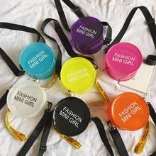 Summer Transparent Jelly Bag Round Crossbody Bags For Women 2019 Quality Luxury Handbag Designer Ladies Beach Clear Shoulder