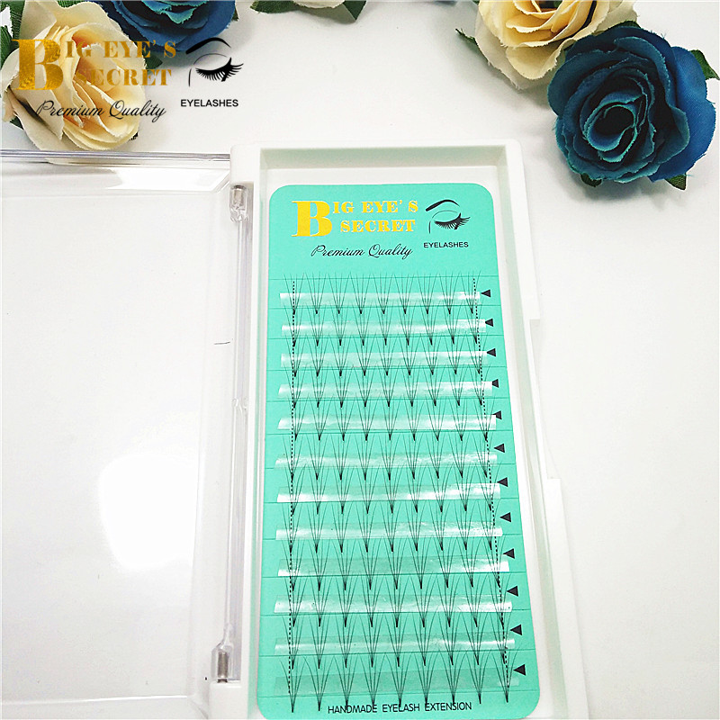 volume 4D Fans lashes Eyelash Extension natural Premade Flase Lash soft best quality professional handmade craft Free Shipping