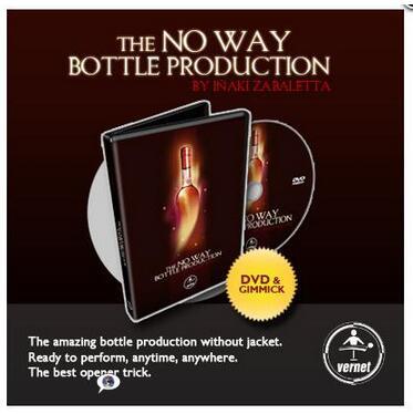 Inaki Zabaletta - THE NO WAY BOTTLE PRODUCTION - Magic tricks