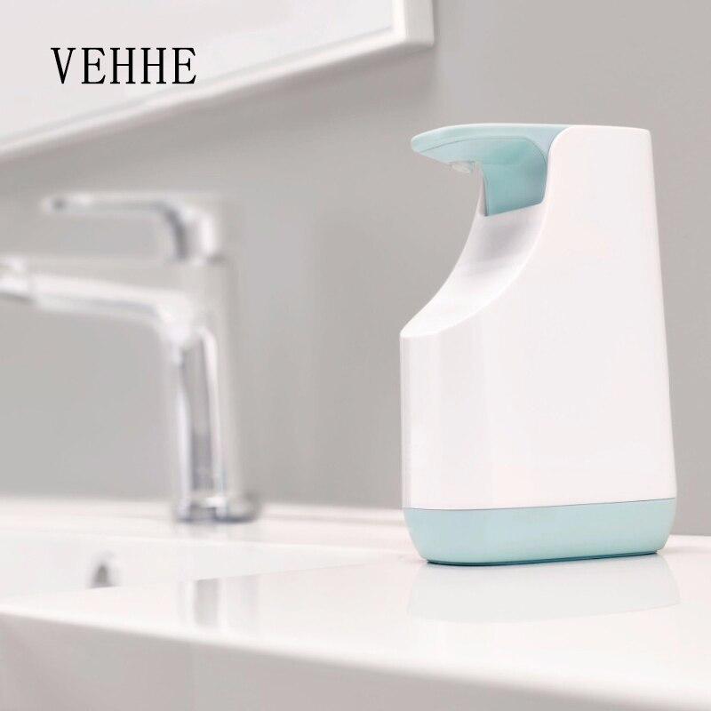 VEHHE Liquid Soap Dispenser Storage Pressing Hand Sanitizer Bottle 350ml Multi-functions Kitchen Bathroom Detergent Container