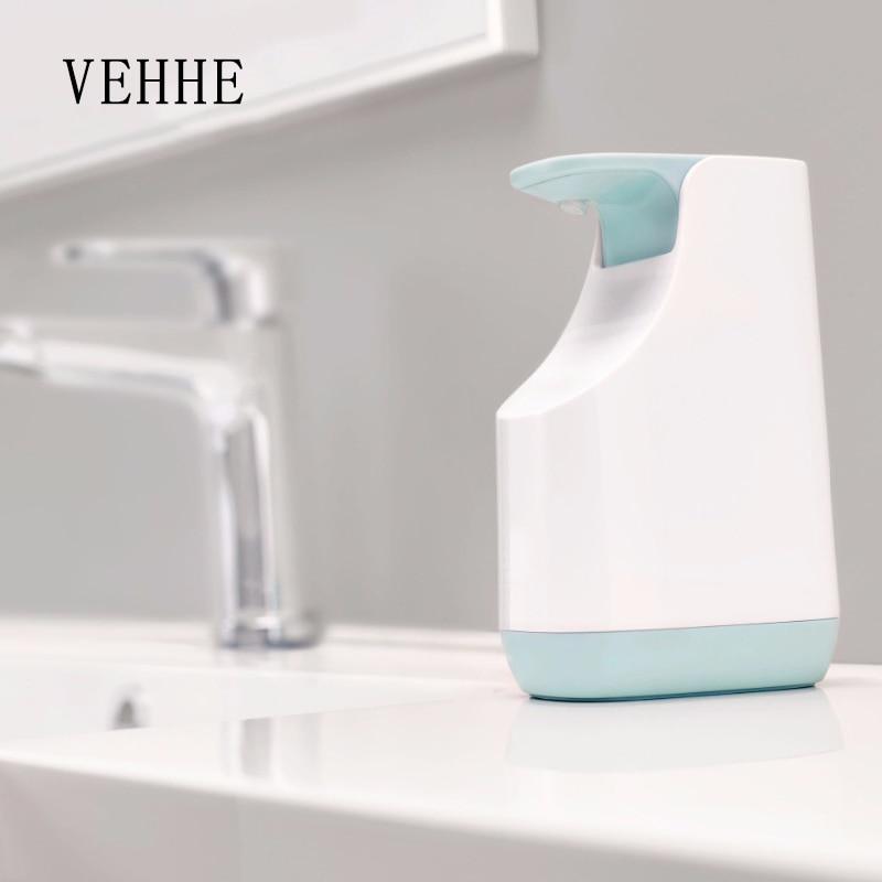 VEHHE Liquid Soap Dispenser Storage Pump Set Multi-functions Kitchen Detergent Container Bathroom Shampoo Soap Dispenser