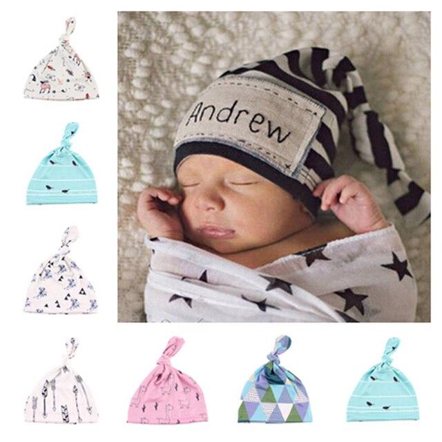 4fbea6848df9e Lucu Kartun Bayi Topi 0-6 Bulan Kapas Ban Topi Bayi Topi Beanie Perempuan  Laki