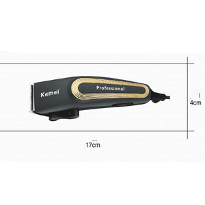 Image 3 - Kemei Power Professional Wire Hair Clipper Electric Hair Trimmer for Men Corded Cutter Beard Razor Male Haircut Machine Barber
