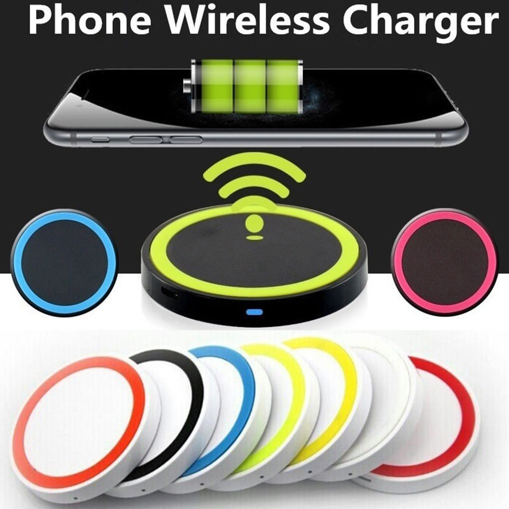 Wireless <font><b>Charger</b></font> Charging Pad USB Phone <font><b>Charger</b></font> for <font><b>Samsung</b></font> <font><b>S9</b></font> S8 Plus S7 S6 edge Note 8 5 for iPhone X 8 8 plus for HTC image