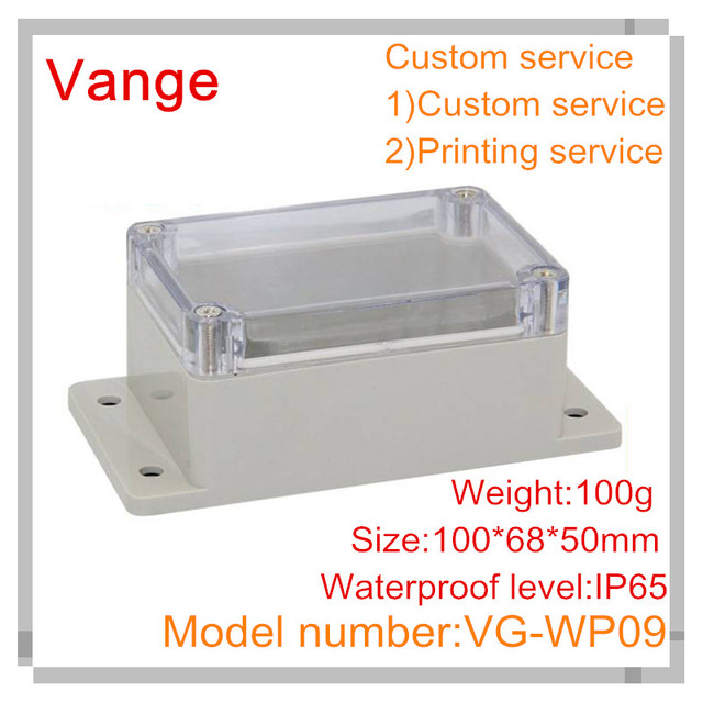 Aliexpress buy 2pcslot injection waterproof box transparent 2pcslot injection waterproof box transparent abs plastic wall mounted junction box for wiring sciox Choice Image