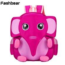 От 3 до 6 лет слон Покемон мешок детей cartable Enfant детский сад мешок школы для девочек Водонепроницаемый ортопедический рюкзак для мальчиков