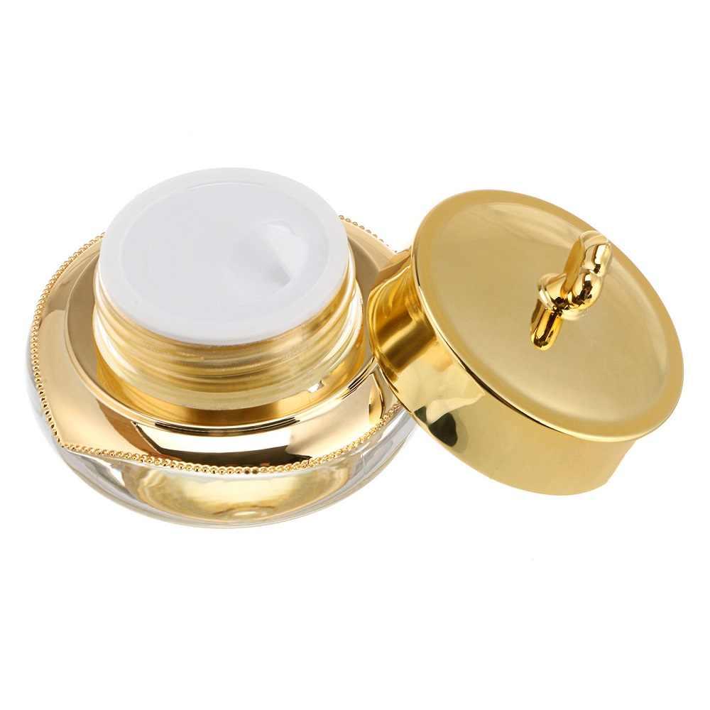 5/10G Crown Botol Kosong Sampel untuk Kuku Seni Makeup Kosmetik Krim Toples Kotak Penyimpanan Pot Wadah portable Plastik Case