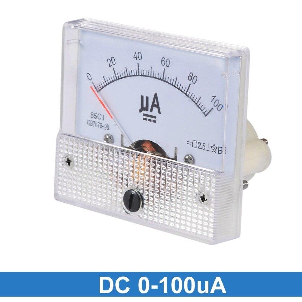 installazione contatore AMPEROMETRO ANALOGICO Misuratore 0-100 UA DC per l/'installazione