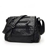 Famous Brand Fashion Soft Leather Shoulder Bags Female Crossbody Bag Portable Women Messenger Bag Tote Ladies