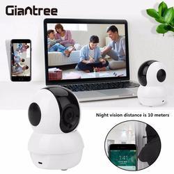 Giantree hd ip كاميرا مراقبة الطفل مراقب wifi ip لاسلكية كاميرا للرؤية الليلية داخلي الأمن الرئيسية