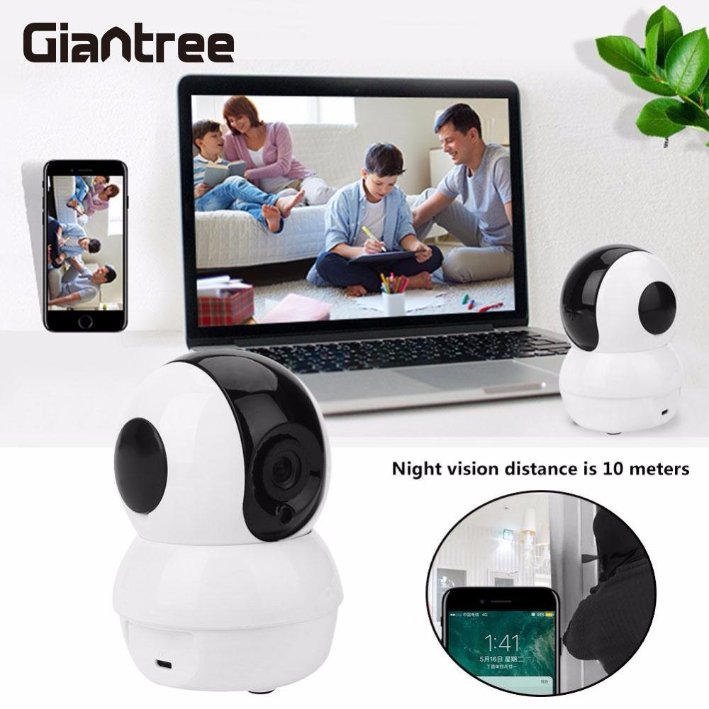 giantree HD IP camera Baby Monitor WIFI IP Surveillance Wireless Camera Infrared Night Vision Indoor home Security giantree 960p hd wifi ip camera infrared night vision baby monitor home security monitor camera support tf card white eu us