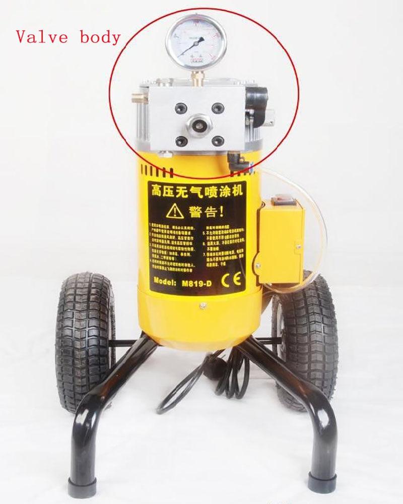 Pistola pulverizadora eléctrica Pulverizador de pintura Neumático - Juegos de herramientas - foto 4