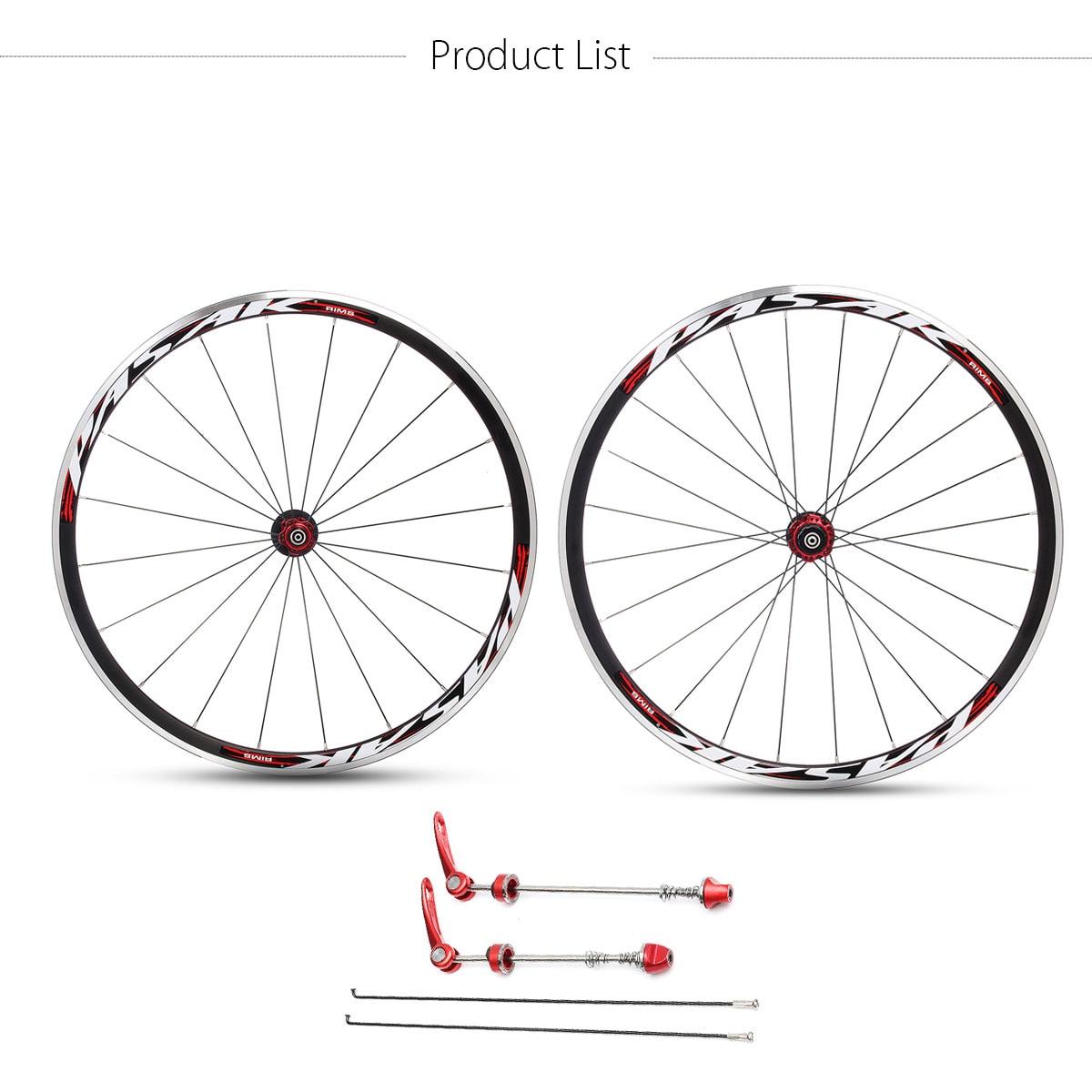 Новый 700С 1690g 30mm Ультра легкий дорога передняя велосипед задний Колесная обода, Фривил с быстрого выпуска рычаг шашлык велосипед части