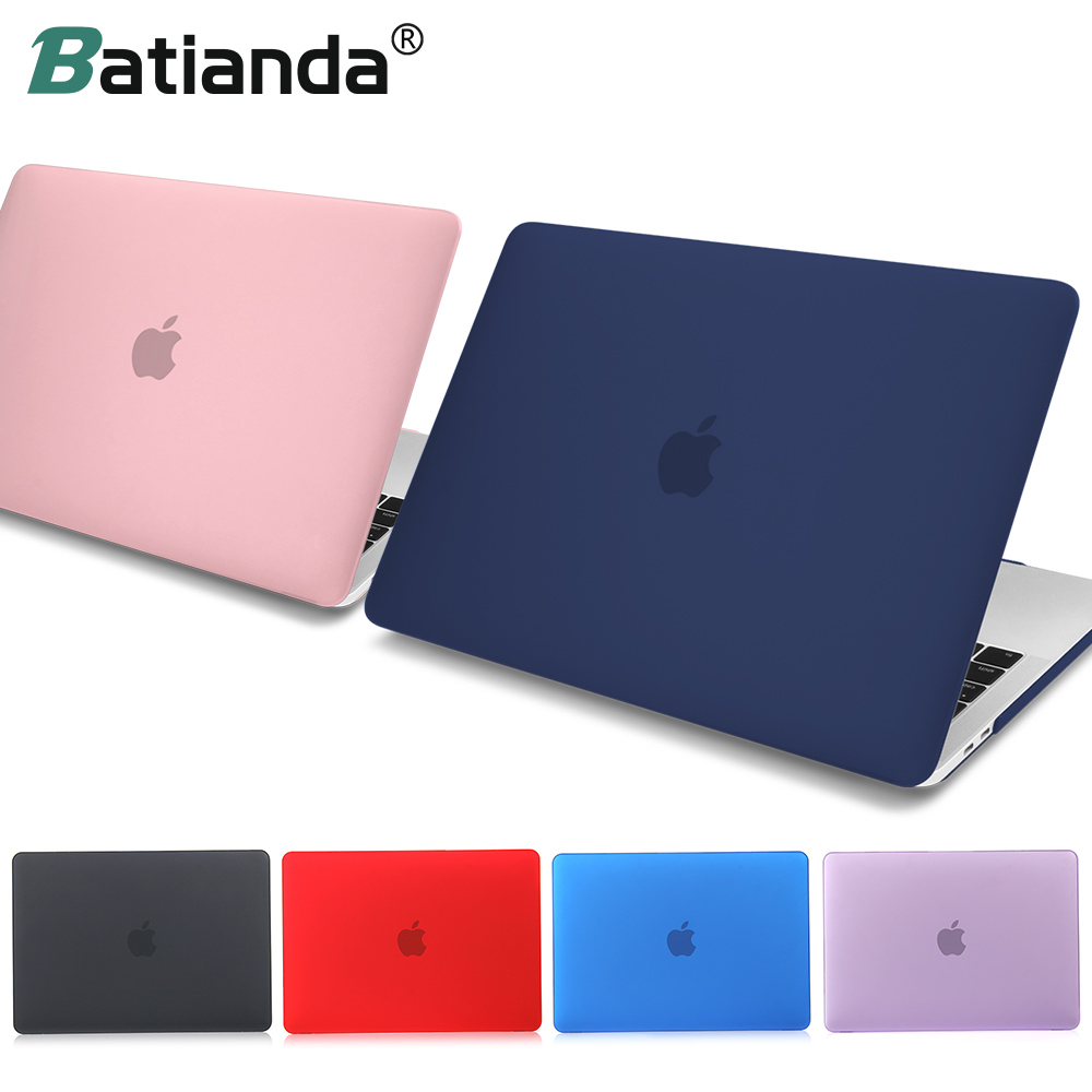 For MacBook Pro Air Retina 11 12 13 15 Crystal & Matte Laptop Case For 2018 Macbook Pro 13 15 Touch Bar A1989 A1708 Hard Cover цена