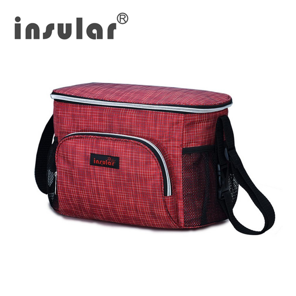 INSULAR Baby Diaper Bags Waterproof Multifunctional Large  Capacity Mommy Bag for Stroller Travel Baby Nappy Bag New Sale