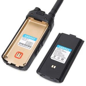 Image 2 - Abjessie AR F6 Walkie Talkie Ham con pantalla Dual, 6 bandas, modo de espera Dual, 999CH, VOX, DTMF, SOS, pantalla LCD a Color