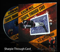 Free shipping!Sharpie Through Card -Magic Trick,stage/closeup,magic tricks,fire,props,comedy,Accessories