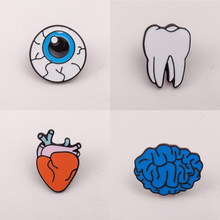 Anatomical Heart Enamel Pins การแพทย์(China)