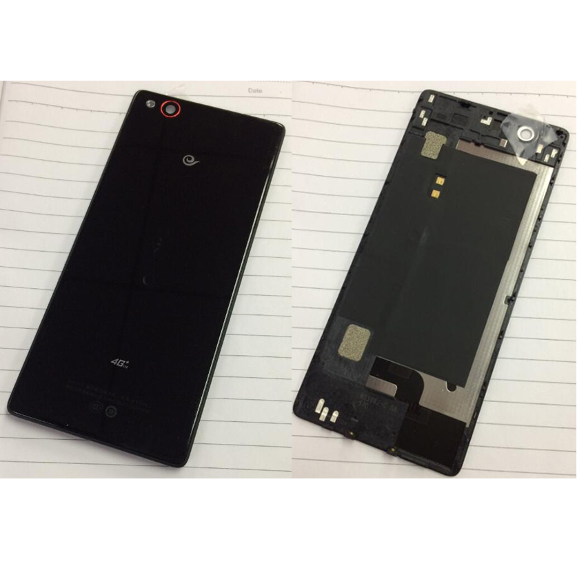 TOP Quality Rear Back Battery Door Cover Housing for ZTE Nubia Z9 NX508J Phone Parts Replacement-in Mobile Phone Housings & Frames from Cellphones & Telecommunications 1
