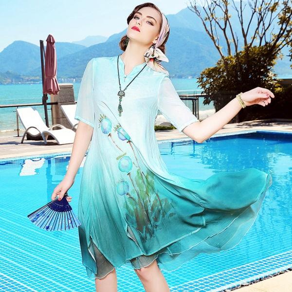 Socialite fashion party dress