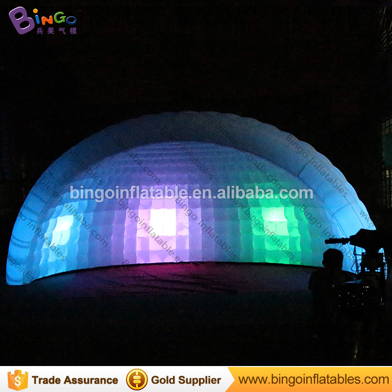 19.7ft X 9.8ft X 13.1ft inflatable dome tent , giant inflatable dome tent , inflatable igloo tent for rental toy tents inflatable cartoon customized advertising giant christmas inflatable santa claus for christmas outdoor decoration