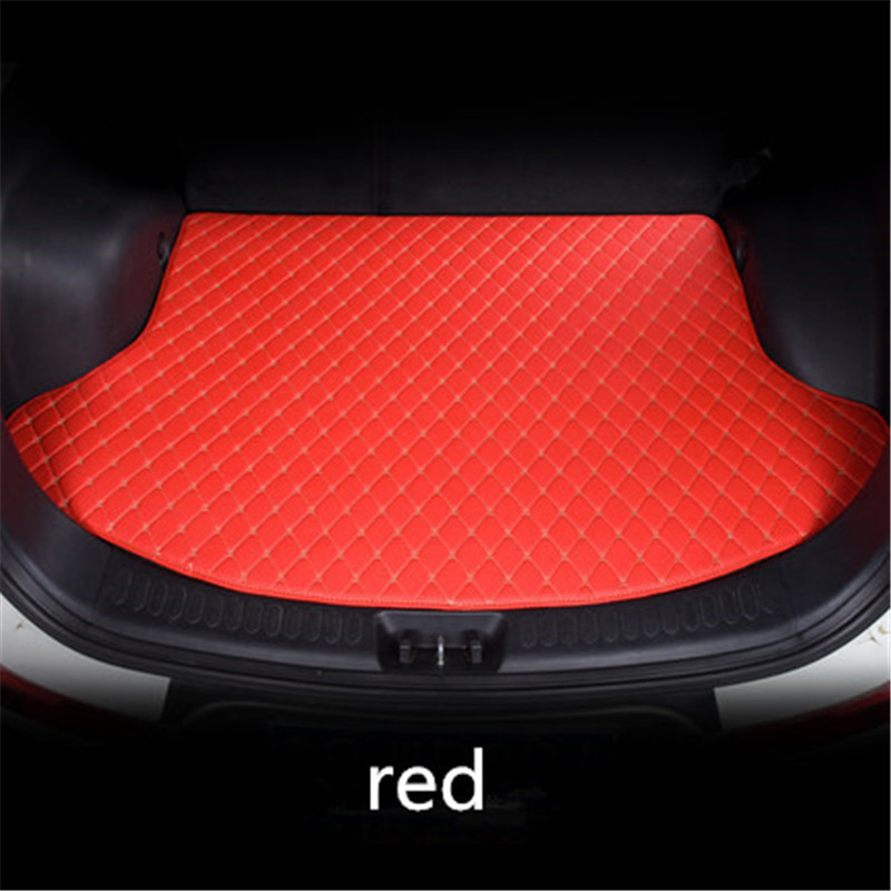 Custom car trunk mat for CHEVROLET all models Cruze Captiva Aveo Malibu Equinox Suburban Sail car accessories styling