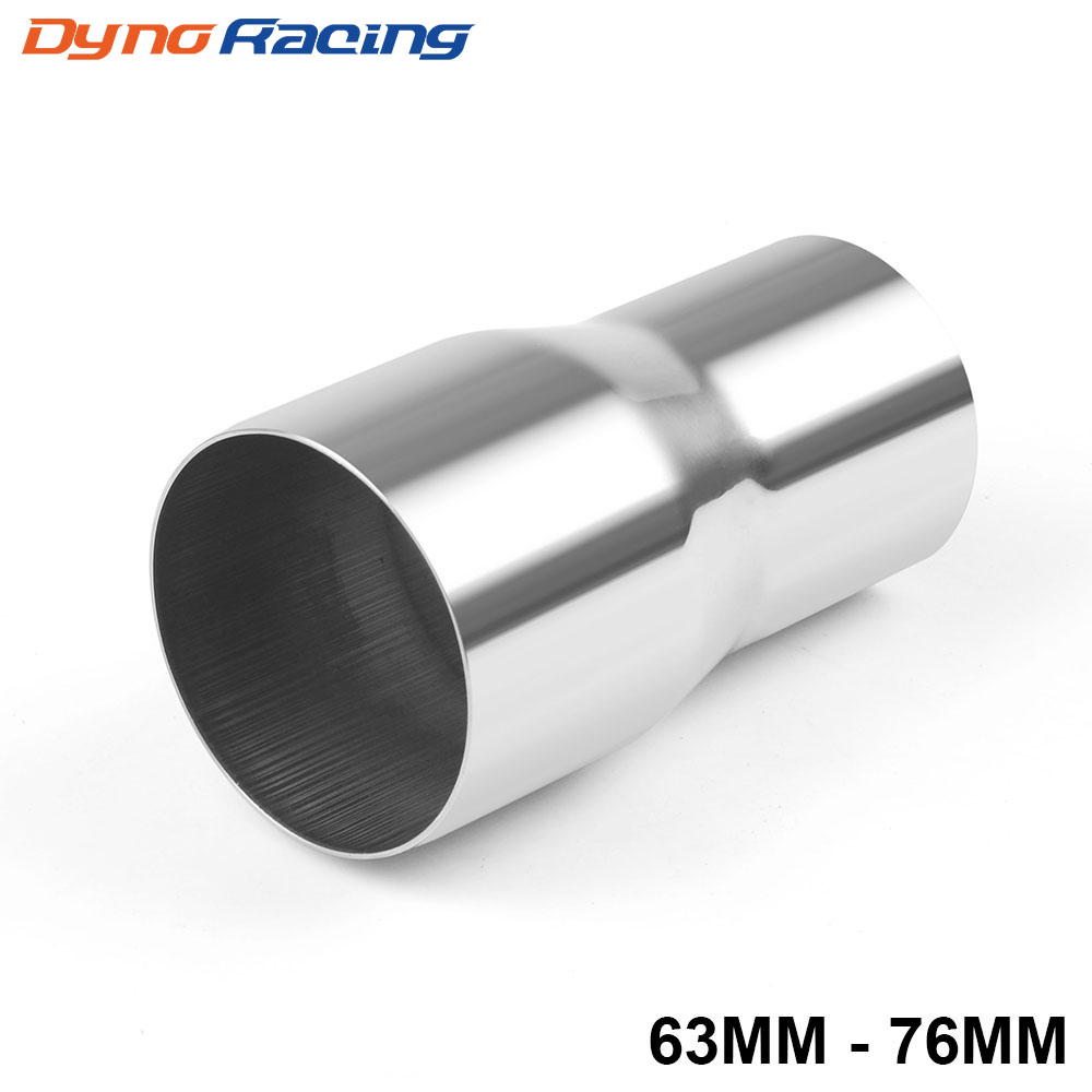 63MM TO 76MM Exhaust 2 Step Reducer Adapter Connector Tube Stainless Steel Pipe Cone BX101447-5 steel casing pipe
