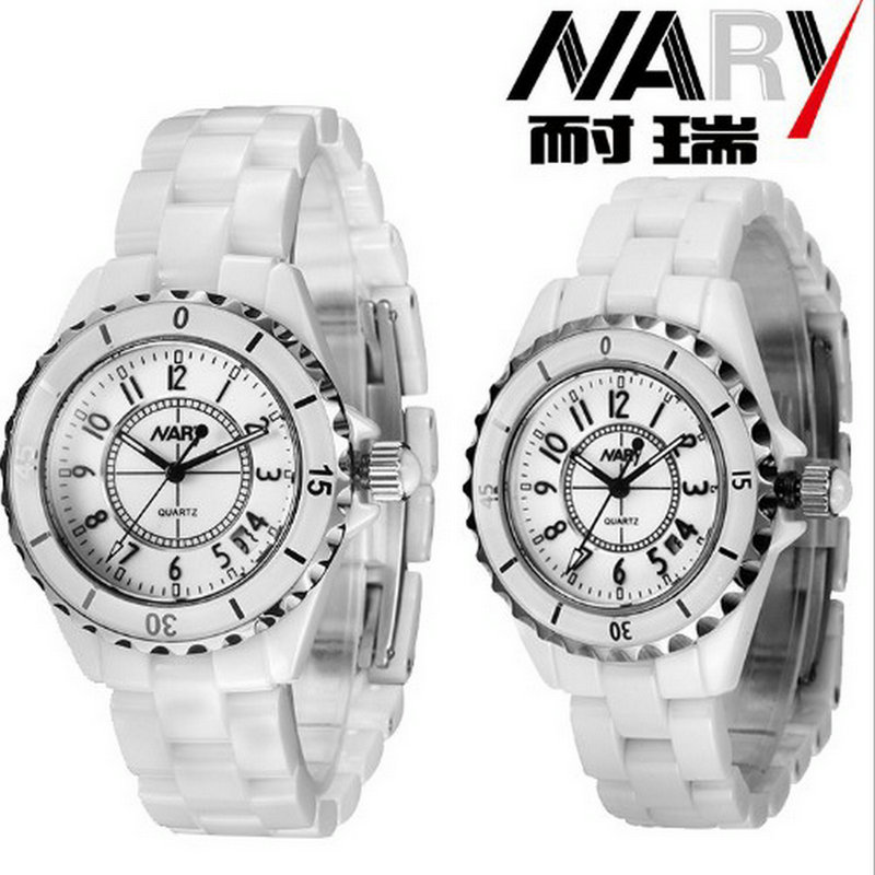 New business casual fashion watch trend fashion elegant male and female students ceramic business couple Watch point systems migration policy and international students flow