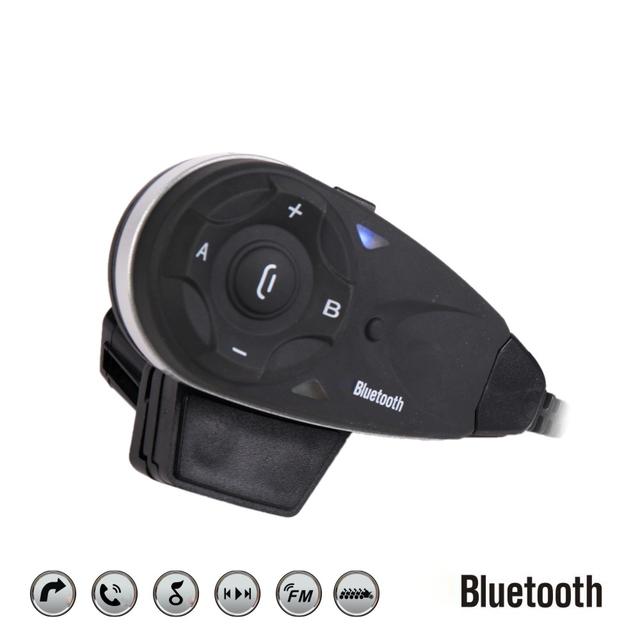 1200 m V5 Auriculares Casco de La Motocicleta Moto Automática Entre Teléfono Auriculares Bluetooth Auriculares de Intercomunicación Inalámbrica 5 Pilotos
